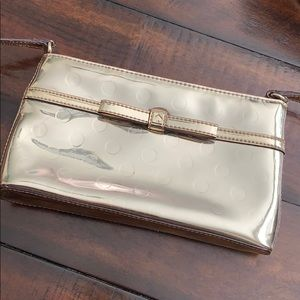 Like New Kate Spade Gold Purse - Used Once